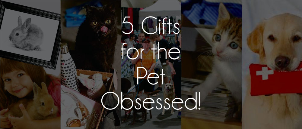 5 gifts for the pet obsessed